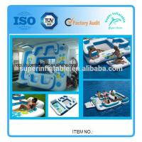 Giant 6 Person Floating Island With Pool Manufactures