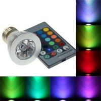 Buy cheap LED RGB Bulb 3W w/ Remote from wholesalers