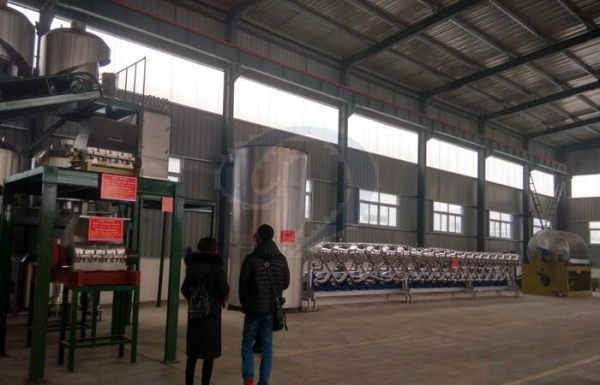 Quality Automatic cassava starch production plant for sale