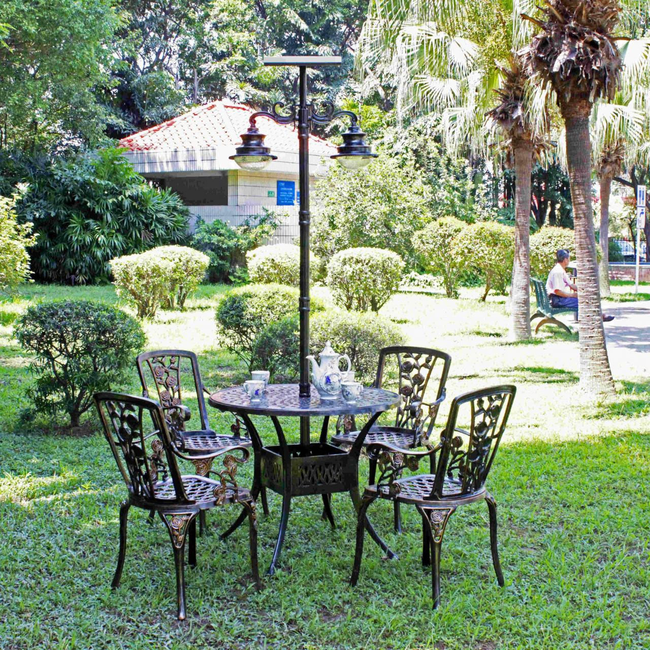 Outdoor furniture ZY-0107E462-2 Manufactures