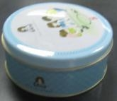 Quality Small Round Biscuit Cookie Chocolate Candy Mints Tin Box for sale
