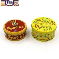 Middle Biscuit Cookie Chocolate Candy Mints Canned Food Gift Packaging Metal Tin Box Manufactures