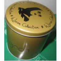 Small Round Cosmetics Storage Tin Canister Sets Manufactures