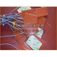 Silicone Rubber Heaters with 3M PSA adhesive Manufactures