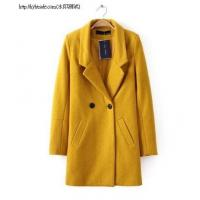 China T8-29(A2-6-1F)Double-breasted wool coat lapel jacket wholesale