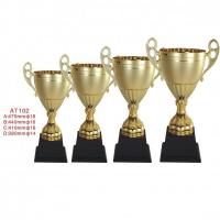 Buy cheap custom awards corporate gold trophy from wholesalers