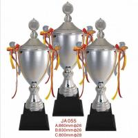 Buy cheap metal competitive award silver archery trophies from wholesalers