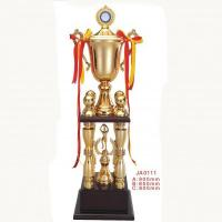 Buy cheap Metal Basketball Game Champion Award Gold Trophy from wholesalers