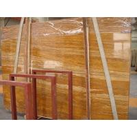 Chinese Marble Golden Travertine Manufactures