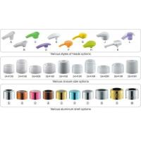 Plastic Hand Lotion Pump With Aluminum Cover 24/410