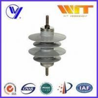 China 9KV Gapless Metal Oxide Surge Arrester Polymer Self - Standing with KEMA Certified on sale