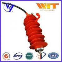 Buy cheap 24KV Electrical Transmission Line Surge Arrester with Silicone Rubber Housing from wholesalers