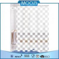 Shower Curtain Wholesale Eco-friendly Full Printed PEVA Bath Shower Curtains Manufactures