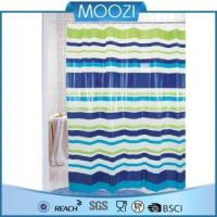 China Shower Curtain water-proof PEVA shower curtain, bath curtain, pvc shower curtain on sale