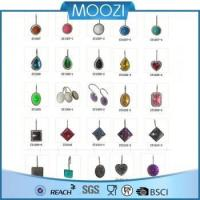 Shower Curtain Morden Colorful Shower Curtain Hooks Rings Manufactures
