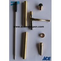 Pen Kits Gold Stylus Fancy Slimline Pen Kits with oval center ring Manufactures