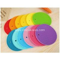 Christmas Rush Silicone Candy Color Coaster Manufactures