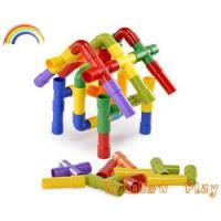 colourful funny pipe toy plastic building blocks for kids Manufactures