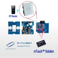Soft-touch switch using PIC16F Series MCU based on mTouch Fireware solutions Manufactures