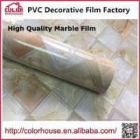 Buy cheap Marble film High quality Marble film self-adhesive pvc decoration film, More thicker material from wholesalers