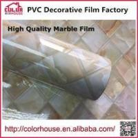 Buy cheap Marble film self adhesive marble film decorative self adhesive vinyl film from wholesalers