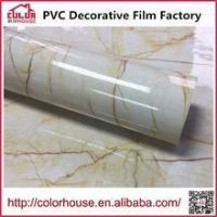 Buy cheap Marble film Self adhesive marble film wallpaper of marbles from wholesalers