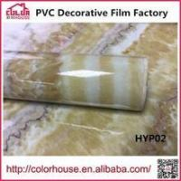 Buy cheap Marble film self adhesive pvc wallpaper marble film from wholesalers