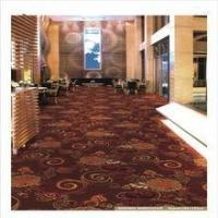 China In stock Floral pattern nylon printed wall to wall carpet in stock on sale