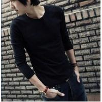 Blank T-shirt Solid color long-sleeved models 06 Manufactures