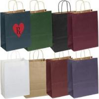 Matte Finish Custom Promo Shopping Bag - 5.25w x 8-3/8h x 3.25d Manufactures