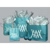 Ice Collection Shopping Bag - 8X4.5X10.25 (Bronze Coffee)