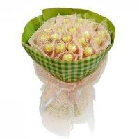 Birthday bouquet of 21 pieces of ferrero rocher NO.3 delivery birthday Manufactures