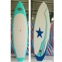 China customized surfing Epoxy Stand up paddle boards of Point nose on sale