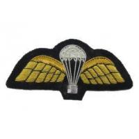 China Badges Parachute Wings Hand Embroidered Patch Badge Air Force Military Uniform R1810 on sale