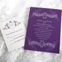 Royal Refinement Wedding Invitations [ING020] Manufactures