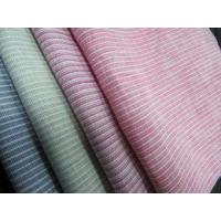 100% linen yarn dyed stripe for shirt LZ5067 Manufactures