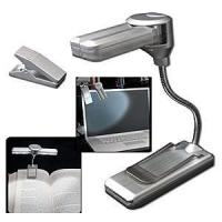 Wireless 4 LED Super Bright Book Light with Clip Manufactures