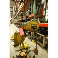 China Asset #: 8162 Budgit 1 Ton Electric Chain Hoist with Trolley and Pendant Control on sale