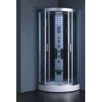China Round Shower Cubicles/Corner Shower/Steam Shower with Hydro-massage Jets Low Shower Tray on sale