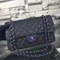 China Chanel 2.55 Series Flap Bags Original Leather A5024 Black on sale