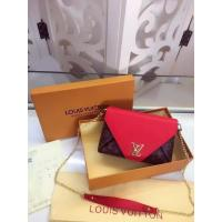 China Louis Vuitton Monogram Canvas LOVE NOTE M54504 Red on sale