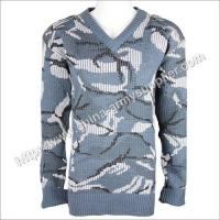 Navy Camouflage Military Sweater Manufactures