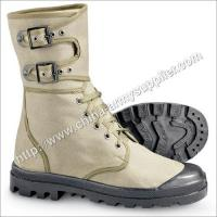 Khaki Canvas Boot Manufactures