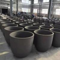 China Meltling metals Silicon Carbide (SiC) Crucibles on sale