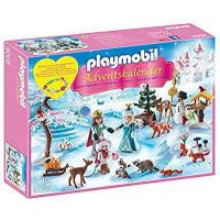 Buy cheap PLAYMOBIL 9008 Advent Calendar - Snowy park ice skating from wholesalers