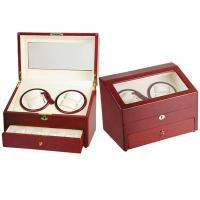 China Watchmaker Tools Wooden Case Watch Winder on sale
