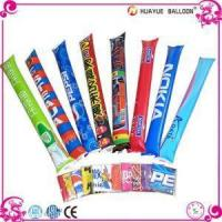 Inflatable PE Material Custom Cheering Clapper Stick , Noisemakers for Event or Vocal Concern Manufactures