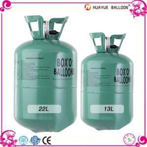 Quality 13L 22L Balloon Cylinder Helium Gas Tank for sale