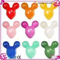Mickey Mouse Head Shaped Latex Balloons for Party or Gift Toy Manufactures