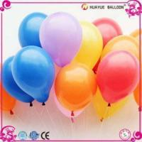 Factory Supply 10 Inch 1.5g 1.8g 2.2g Standard and Metallic Color Latex Balloons for Party Manufactures